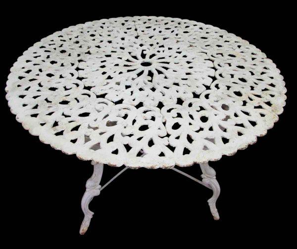 Iron Round Table - Patio Furniture