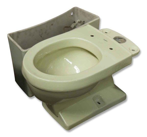Eljer Pale Green Toilet 1970 - Bathroom