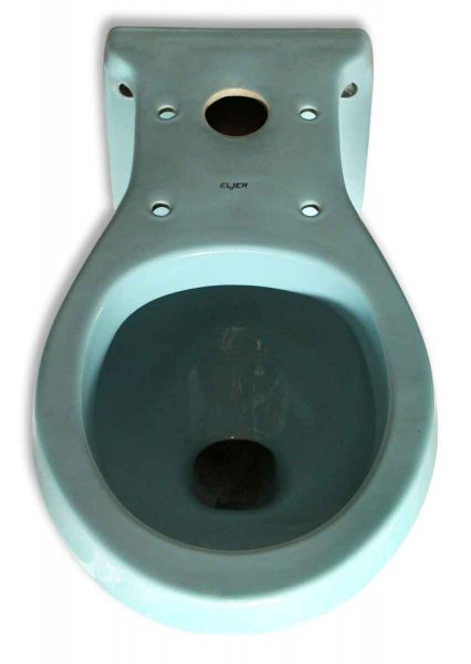 Eljer Blue Toilet - Bathroom