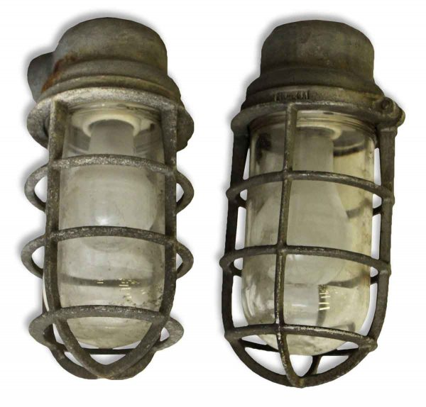 Pair of Crouse Hinds Industrial Sconces - Industrial & Commercial