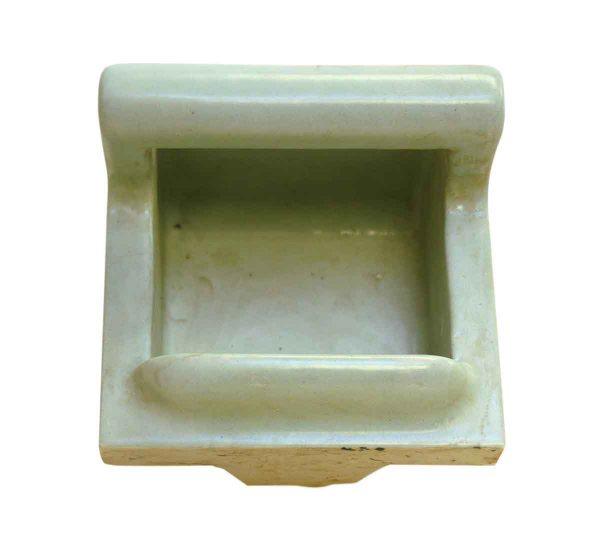 Mint Green Vintage Soap Porcelain Dish - Bathroom