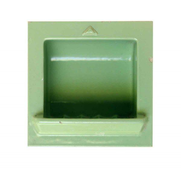 Mint Green Porcelain Soap Dish - Bathroom