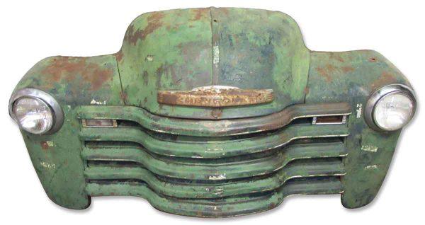1949 Chevrolet Pick Up Truck Front Part - Car Fronts & Parts