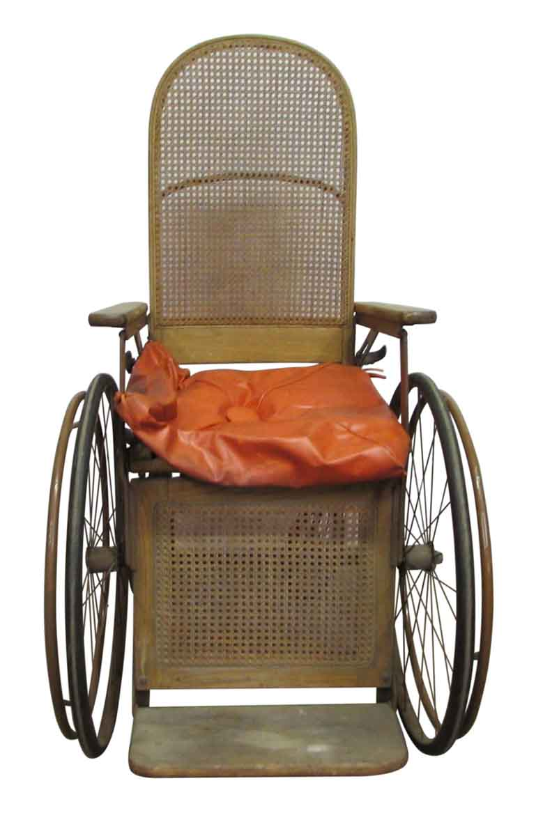 Turn Of The Century Wooden Wheelchair Commercial Furniture