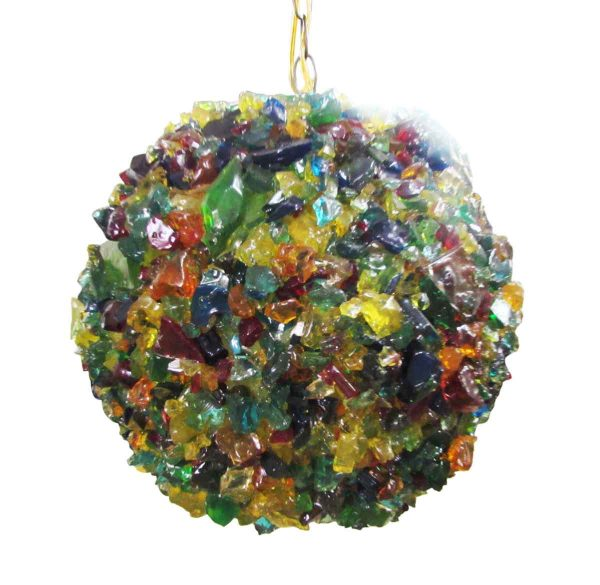 1960s Colorful Ball Light Fixture - Globes