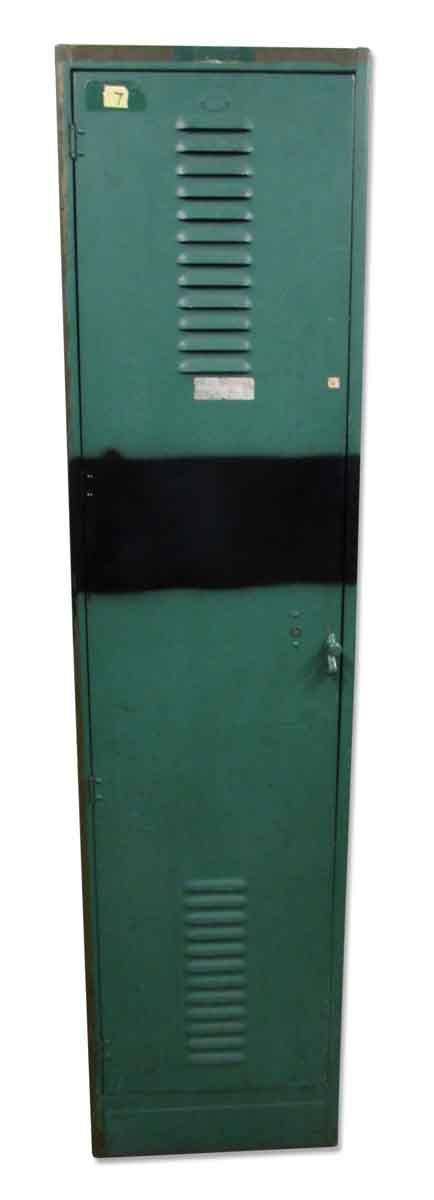 Green Metal Locker - Industrial