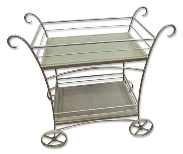 Modern Metal Bar Cart - Carts