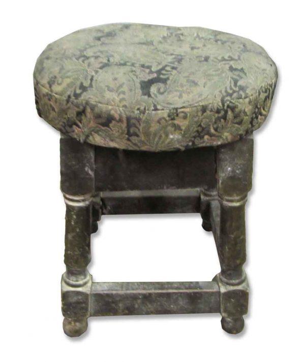 Paisley Print Stool - Seating