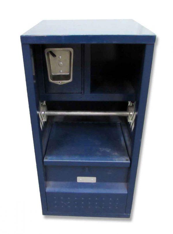 Petite Blue Locker - Industrial