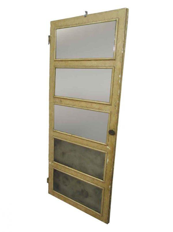 Five Mirror Panels Door - Closet Doors