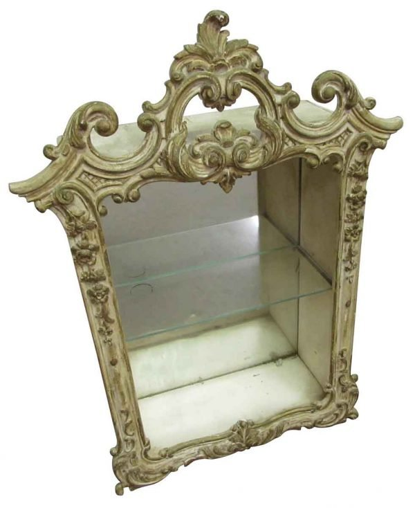 Antique Wall Mounted Display Cabinet - Cabinets