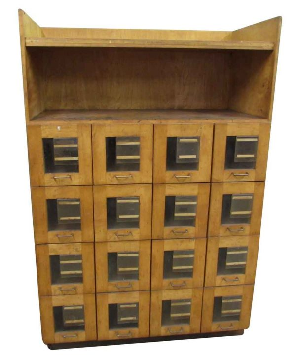 Unique Wooden Filing Cabinet - Office Furniture