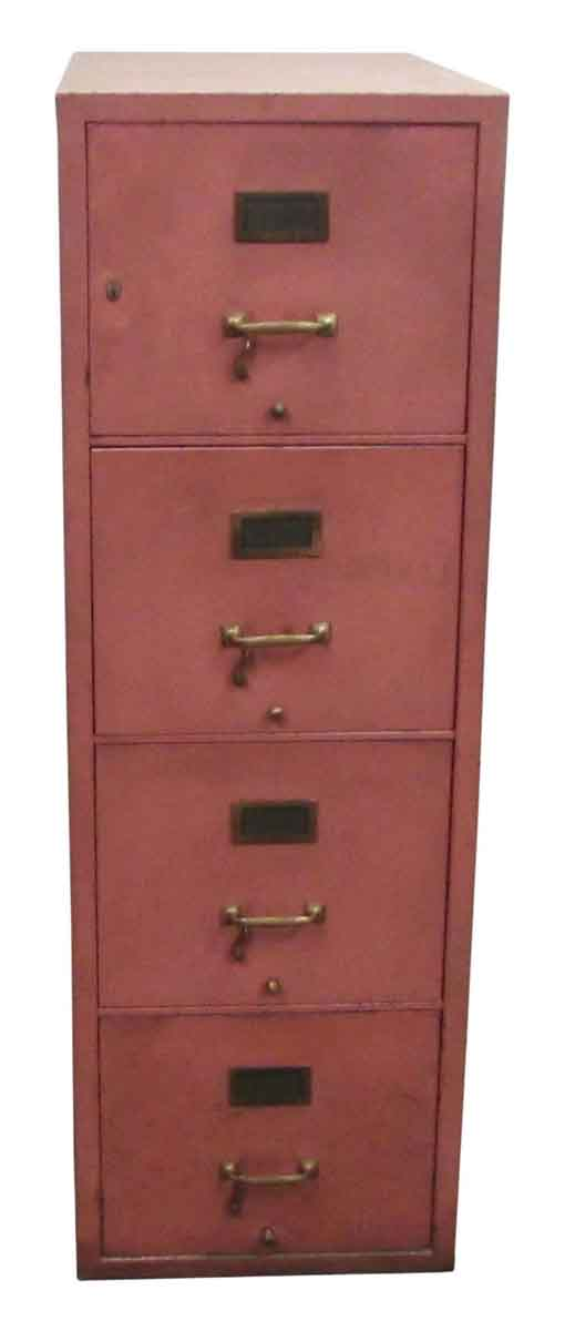 Pink File Cabinet - Office Furniture