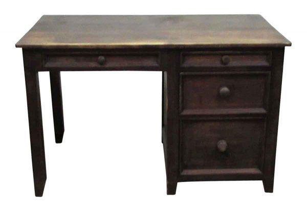 Solid Wood Storage Desk - Office Furniture