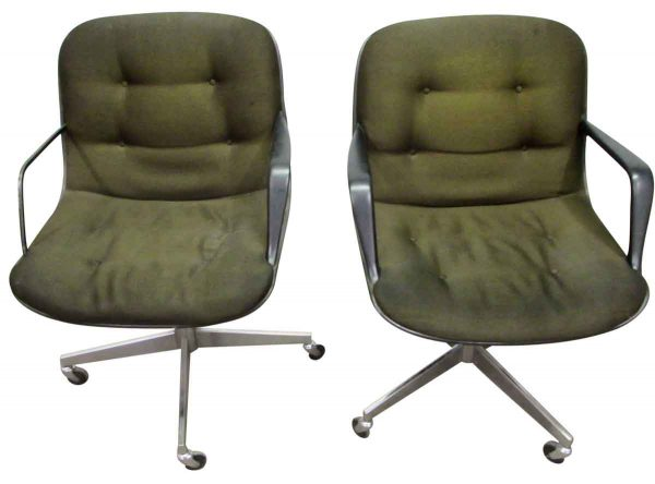 Steelcase Mid To Late Century Rolling Office Chair - Office Furniture