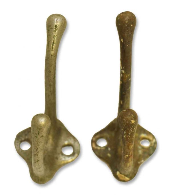 Pair of Iron Hooks - Single Hooks