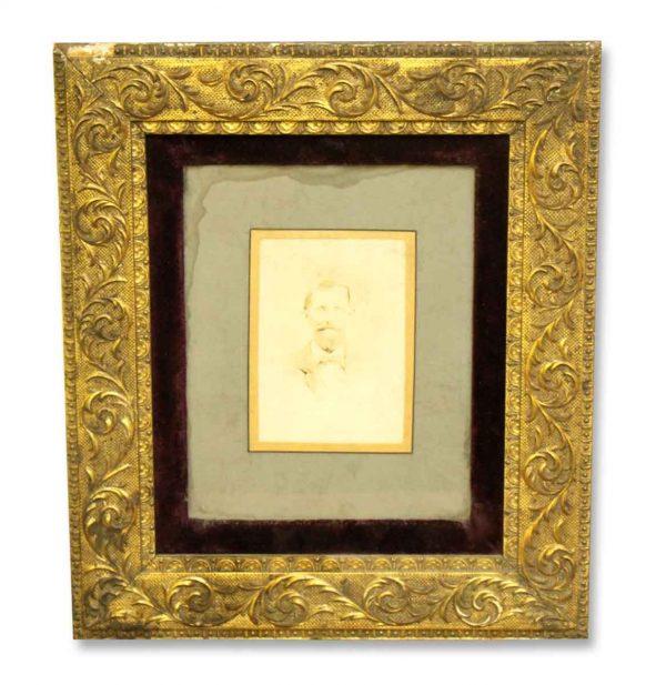 Ornate Framed Portrait - Photographs