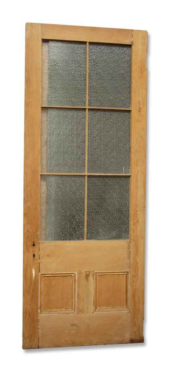 Single Door with Snowflake Glass - French Doors