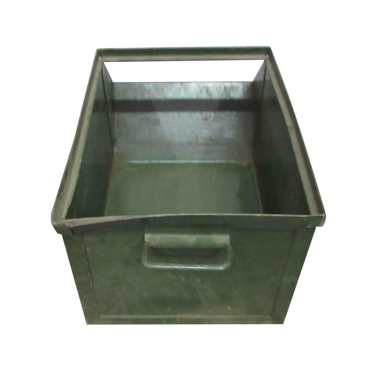 Stackable Industrial Metal Bins Olde Good Things