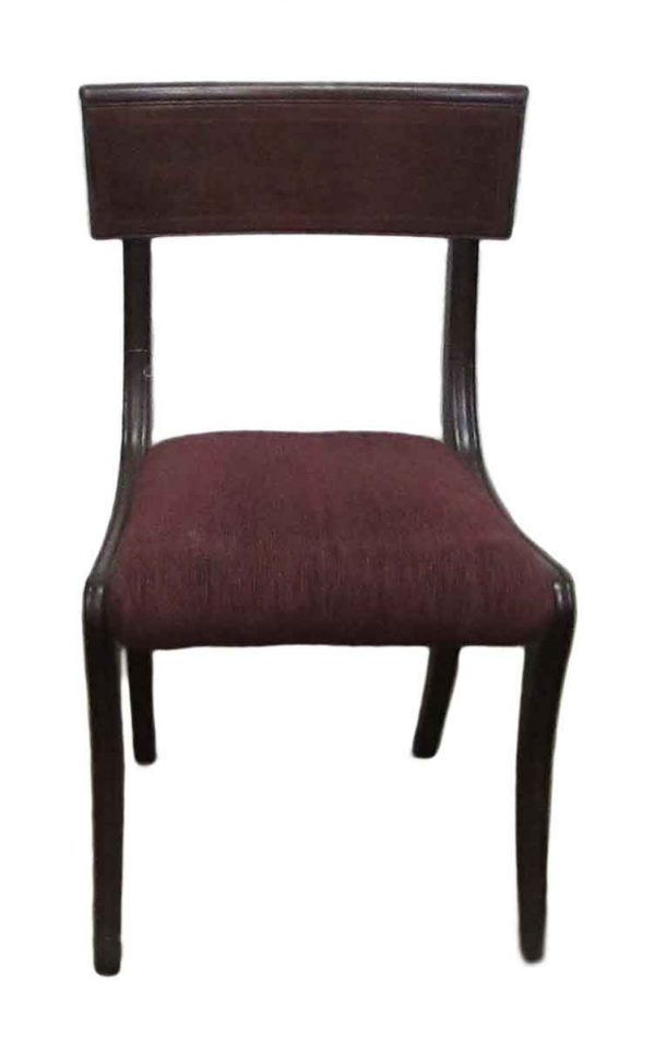 Set of Four Solid Wood Dining Chairs - Kitchen & Dining