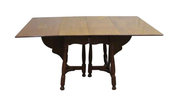 Antique Cherry Gate Leg Table - Kitchen & Dining