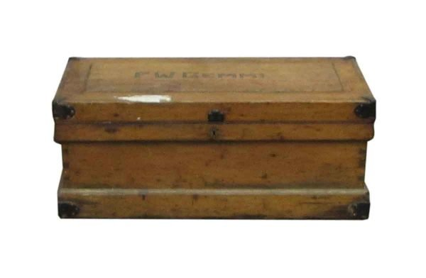 Solid Wood Antique Chest - Chests