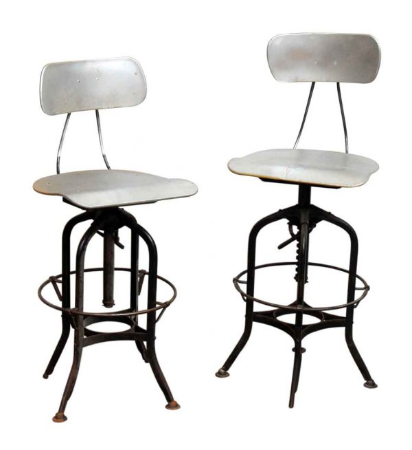 Metal Reproduction Stools - Seating