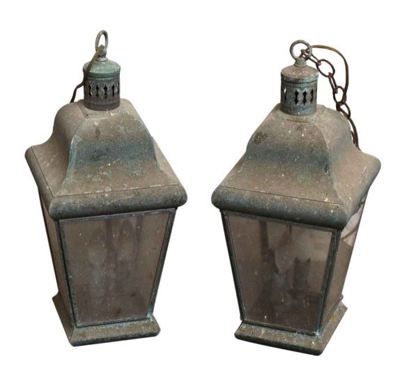 Vintage Hanging Lanterns - Wall & Ceiling Lanterns