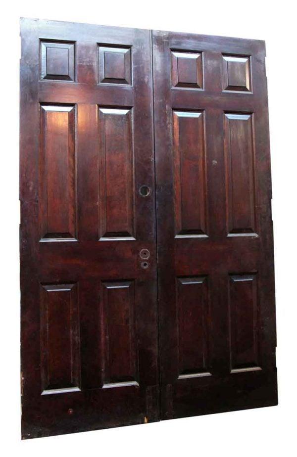 Double Six Paneled Doors - Standard Doors