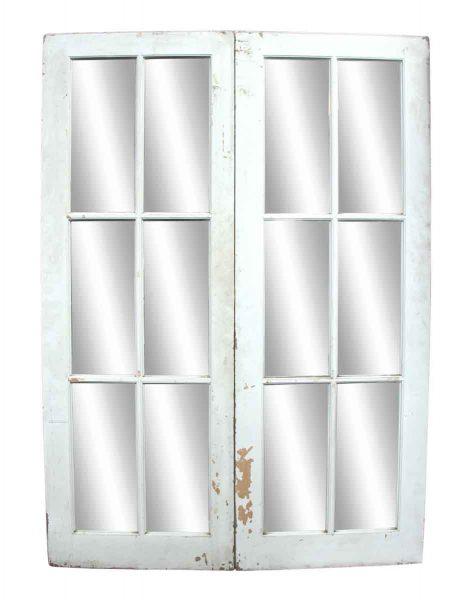 Pair of White French Doors - French Doors