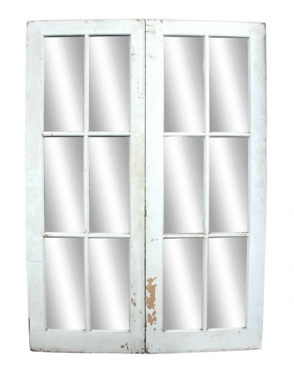 Pair of White French Doors - French Doors