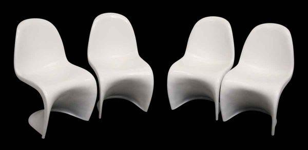 Set of Four Eames Era Modern Chairs - Kitchen & Dining