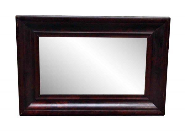 Olde Brown Wooden Mirror - Antique Mirrors