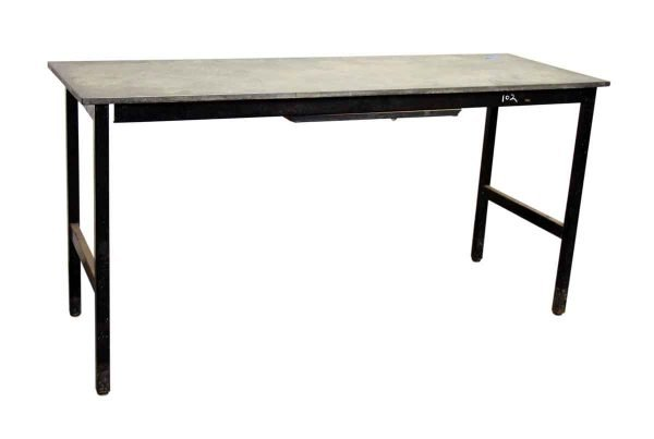 Black Iron Table - Office Furniture