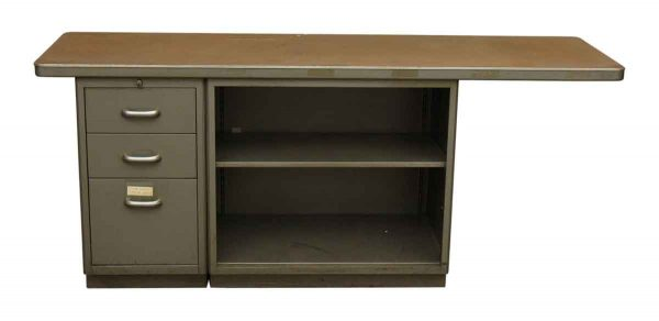 1940s Steelcase Desk Return - Office Furniture