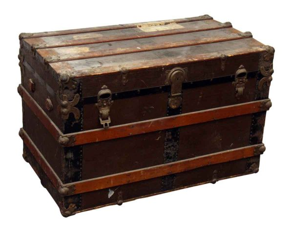 Wooden Shipping Trunk - Trunks