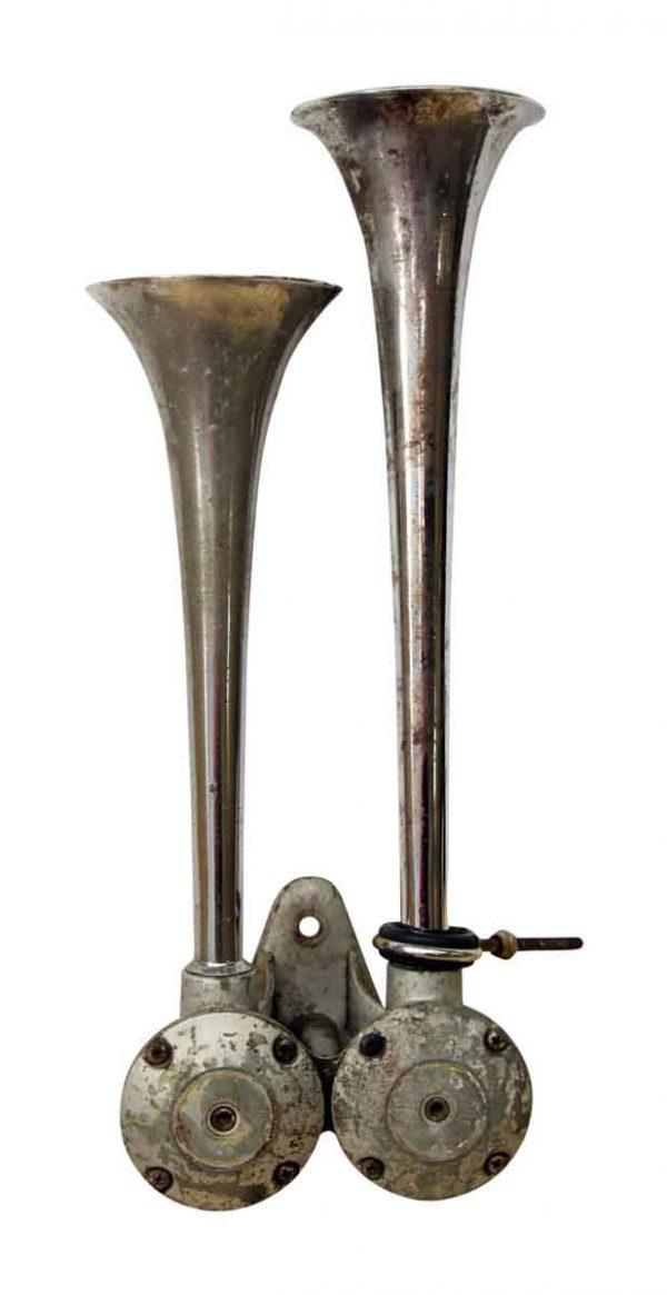 Vintage Double Air Horn - Bells