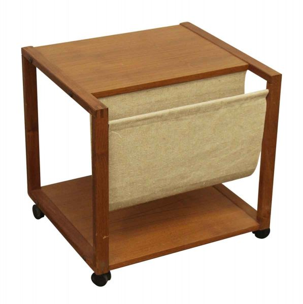 Antique Furniture, Furniture, Living Room. $850.00. Magazine Holding Side  Table