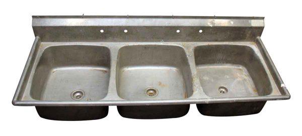 Three Bay Sink - Kitchen