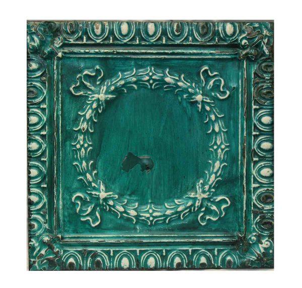 Teal Tin Panel - Tin Panels