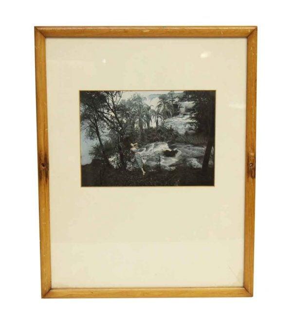 Framed & Matted Portrait - Photographs