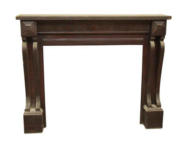 Simplistic Wooden Mantel - Mantels