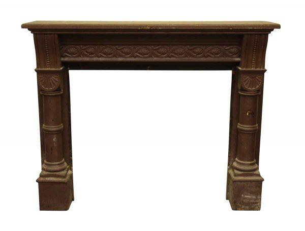 Decorative Wooden Mantel - Mantels