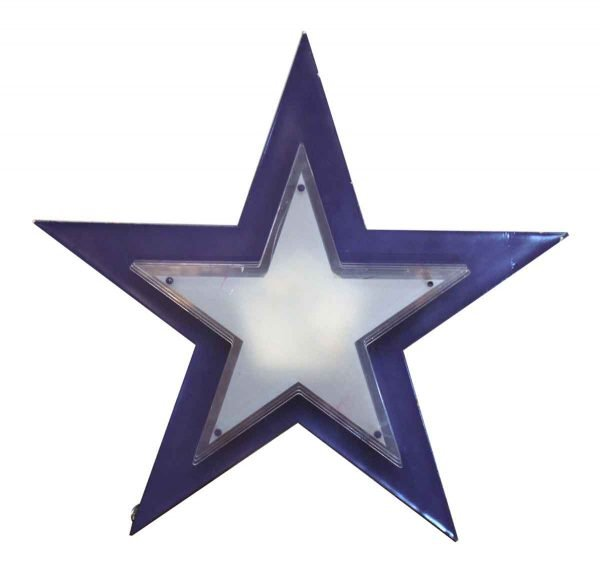 Purple Back Lit Star Light - Industrial & Commercial