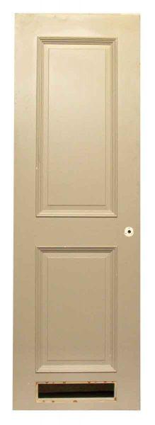 Single Two Panel Beige Door - Specialty Doors