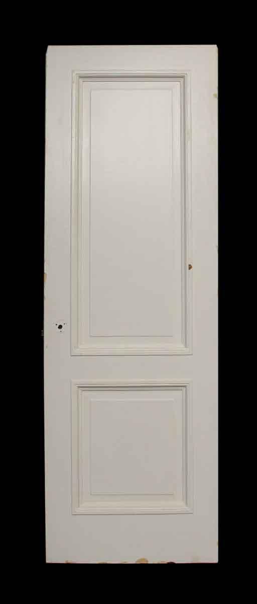 Two Panel White Door - Standard Doors