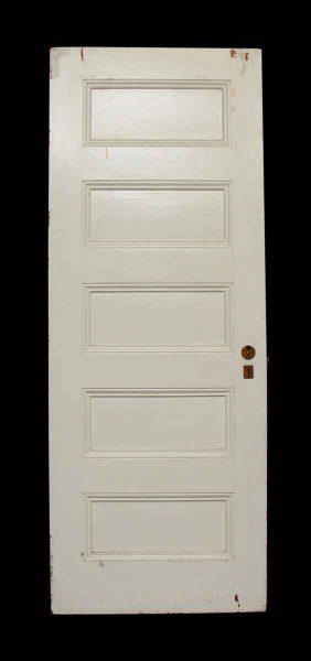 Five Panel White Doors - Standard Doors