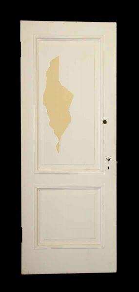 White & Yellow Door - Standard Doors
