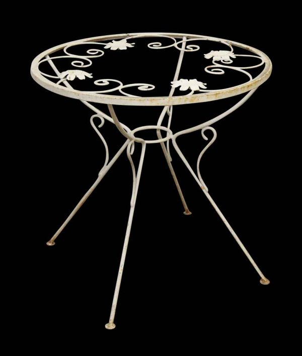 Floral Garden Table - Patio Furniture