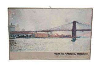 Vintage posters olde good things brooklyn bridge poster malvernweather Gallery